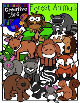Forest Animals Clipart Creative Clips Clipart Animal Clipart Creative Clips Clipart Forest Animals