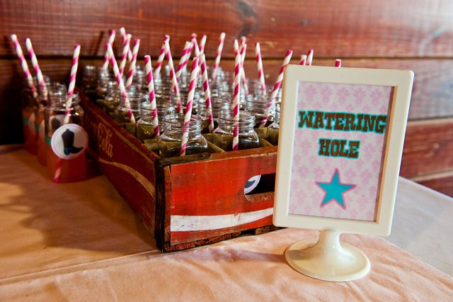 Cowgirl Birthday Party Ideas | Photo 12 of 49 | Catch My Party