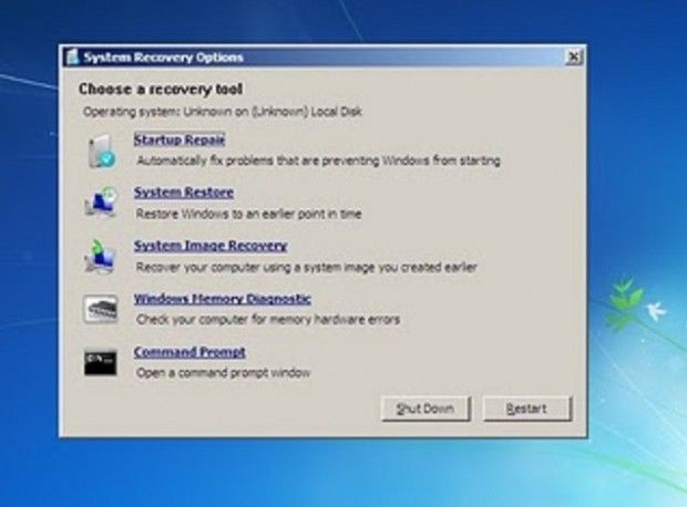 create windows recovery disk from linux