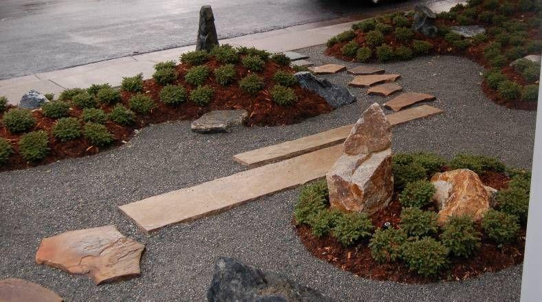 Zen garden Japanese front yard | Landscape & Urban Design ... on Zen Front Yard Ideas id=48256