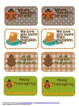 Thanksgiving freebie these gift tags are perfect for students thanksgiving freebie these gift tags are perfect for students coworkers and friends negle Choice Image