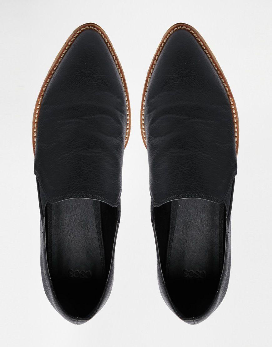 - MANHATTAN - top, flat shoes