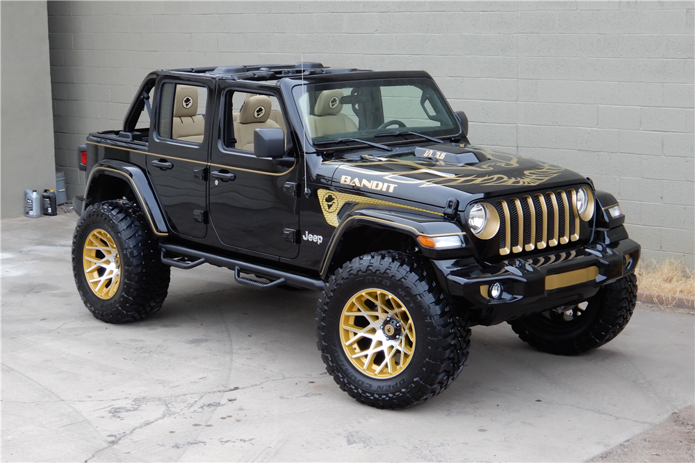 Available At Scottsdale 2019 Lot 766 2018 Jeep Wrangler Jl