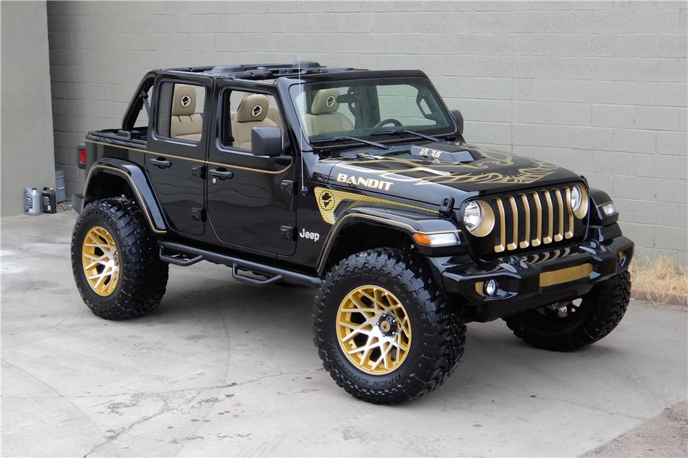 Sold At Scottsdale 2019 Lot 766 2018 Jeep Wrangler Jl Custom Suv Wrangler Jl Jeep Wrangler Custom Jeep Wrangler