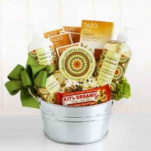 Organic Oatmeal Spa Basket | Spa gifts, Oatmeal and Spa