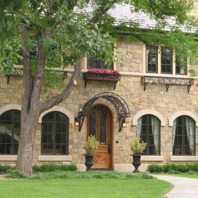 Exterior Arched Window Awnings Design, Pictures, Remodel ...
