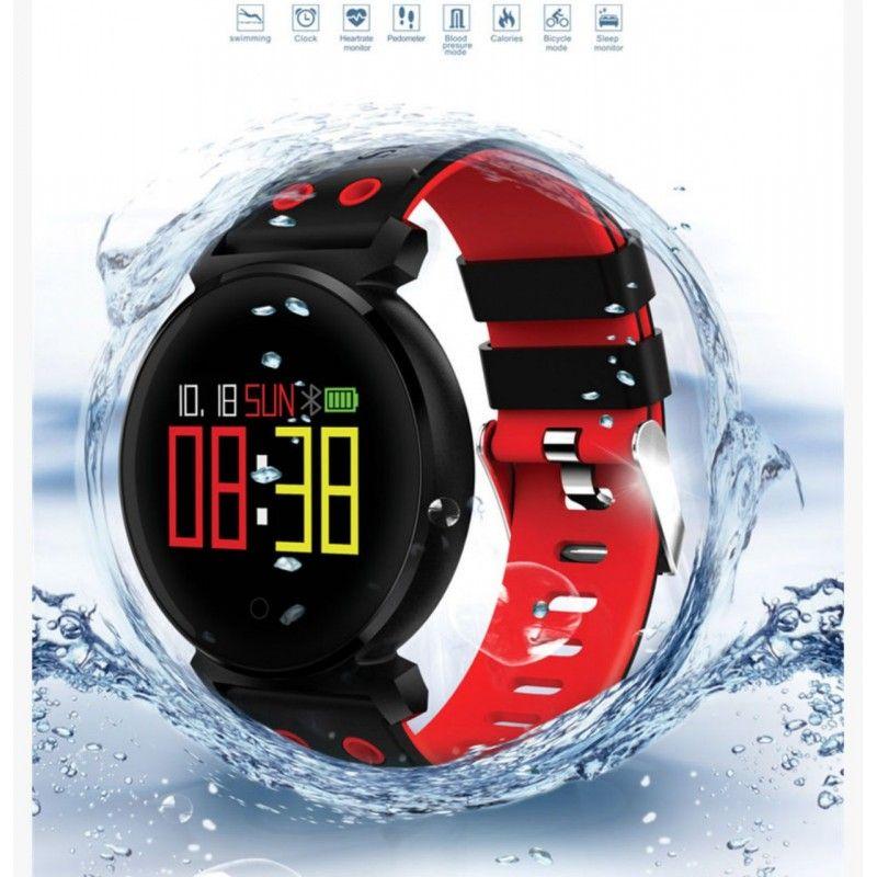 أول ساعة رقمية ساعة ذكية مقاومة للماء صنعت بواسطة شركة هانيليشن وسميت باسم ساعة بولتشار بواسطة سيكو في Smart Watch Waterproof Fitness Tracker Cool Watches