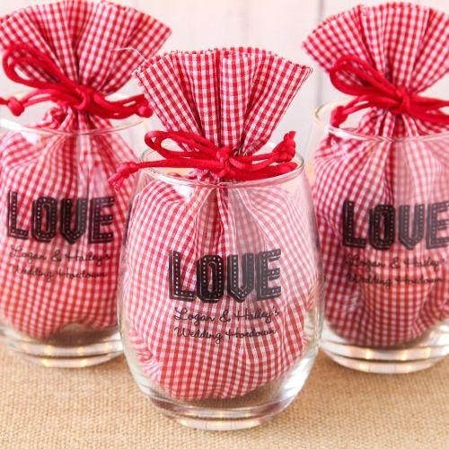 Personalized 15 Oz Stemless Wine Glass Favors Beau Coup Stemless Wine Glass Favors Wine Glass Favors Valentines Wine