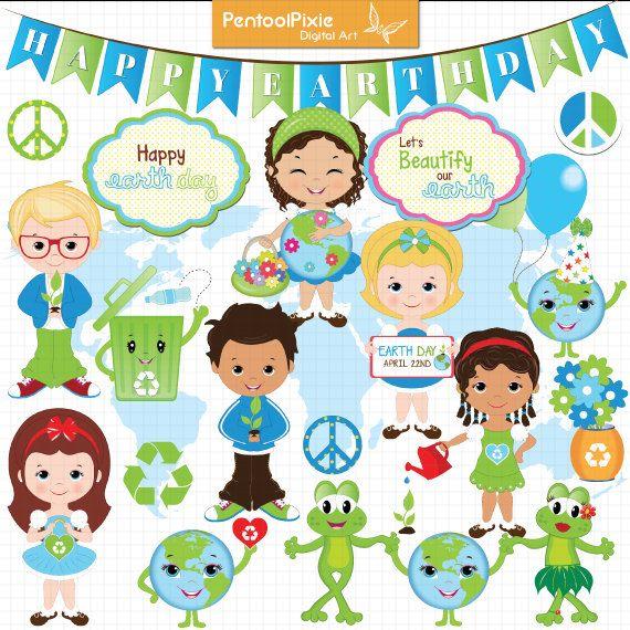 Earth Clip Art For Kids