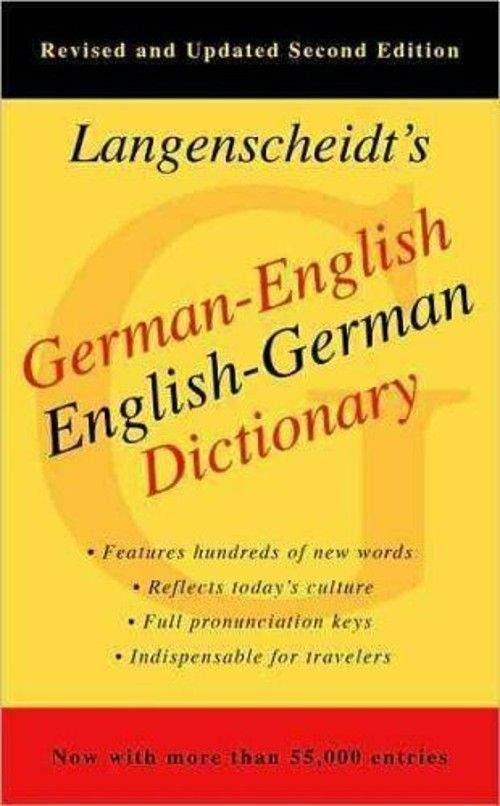 9.48 GermanEnglish Dictionary by Langenscheidt