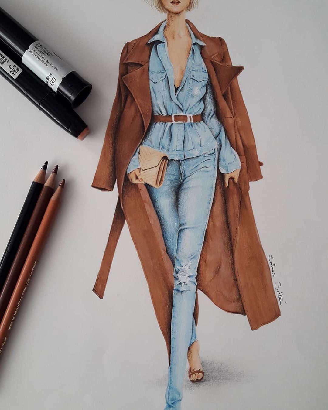 Photo of rt by @solmaz_fashion_design . . .