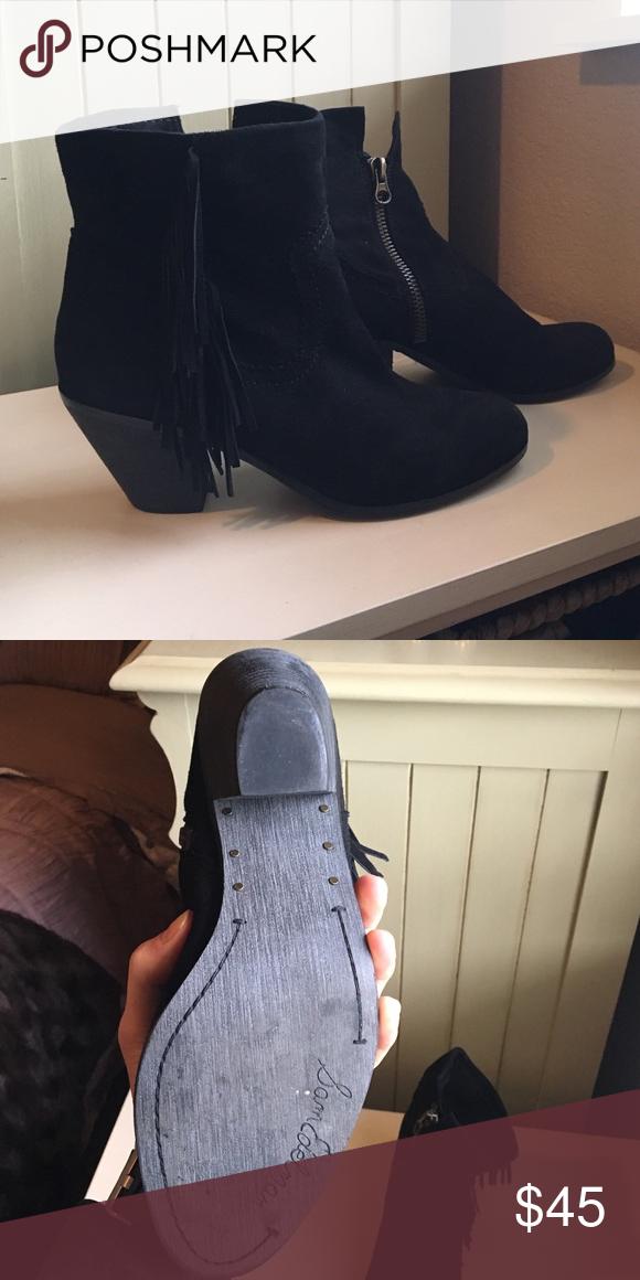 Sam Edelman Fringe Bootie! Size 10! Sam Edelman Shoes Ankle Boots & Booties