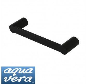 Pearl Black Hand Towel Rail Stainless Steel Latest Designer Bathware