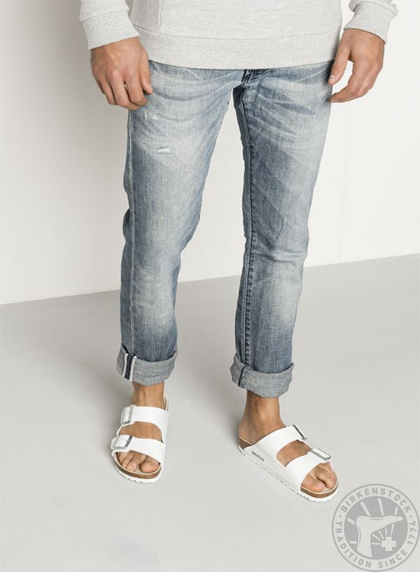 8d45b400bb2c All The White BIRKENSTOCK Two Strap Feels