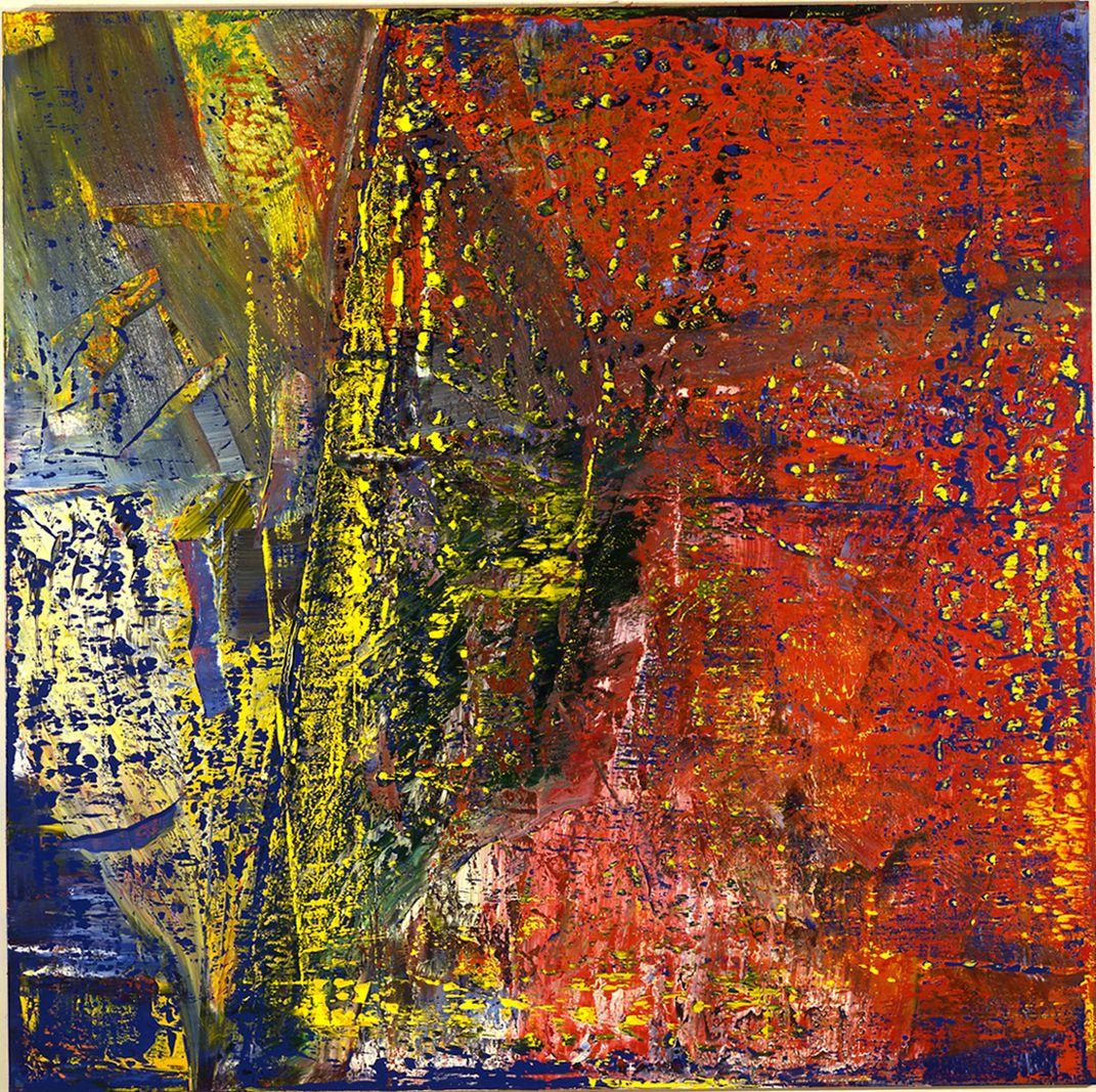 koln gerhard richter abstrakte bilder moderne kunst malerei galerie skyline abstrakt