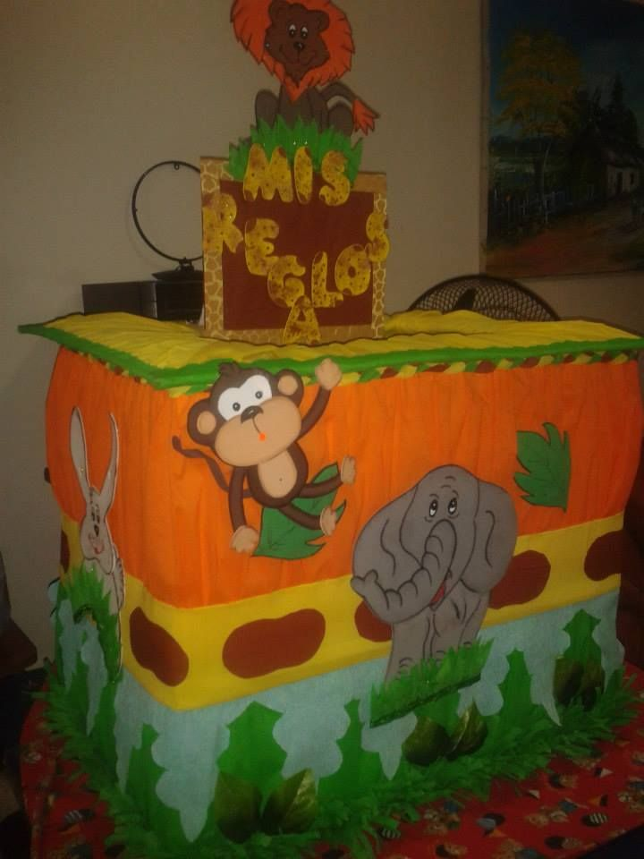 caja de regalo safari....