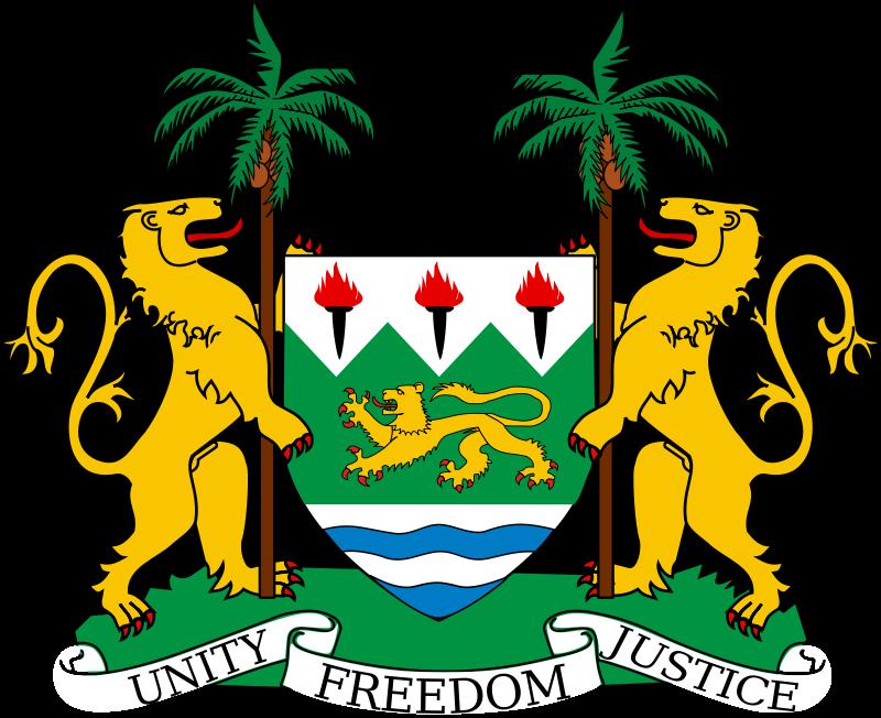 Coat Of Arms Of Sierra Leone My Home Pinterest Sierra