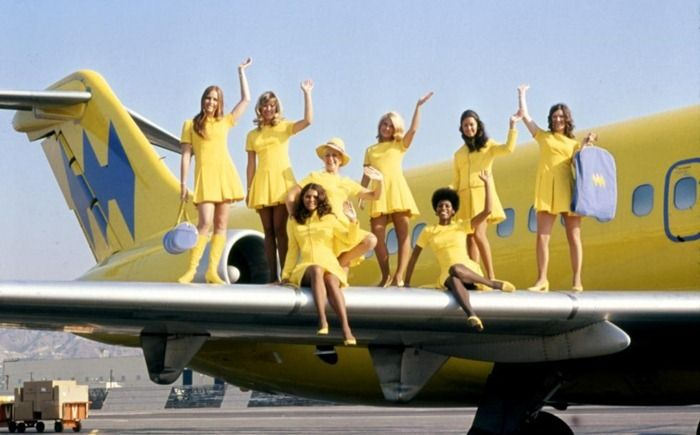 Love the history of the flight attendant