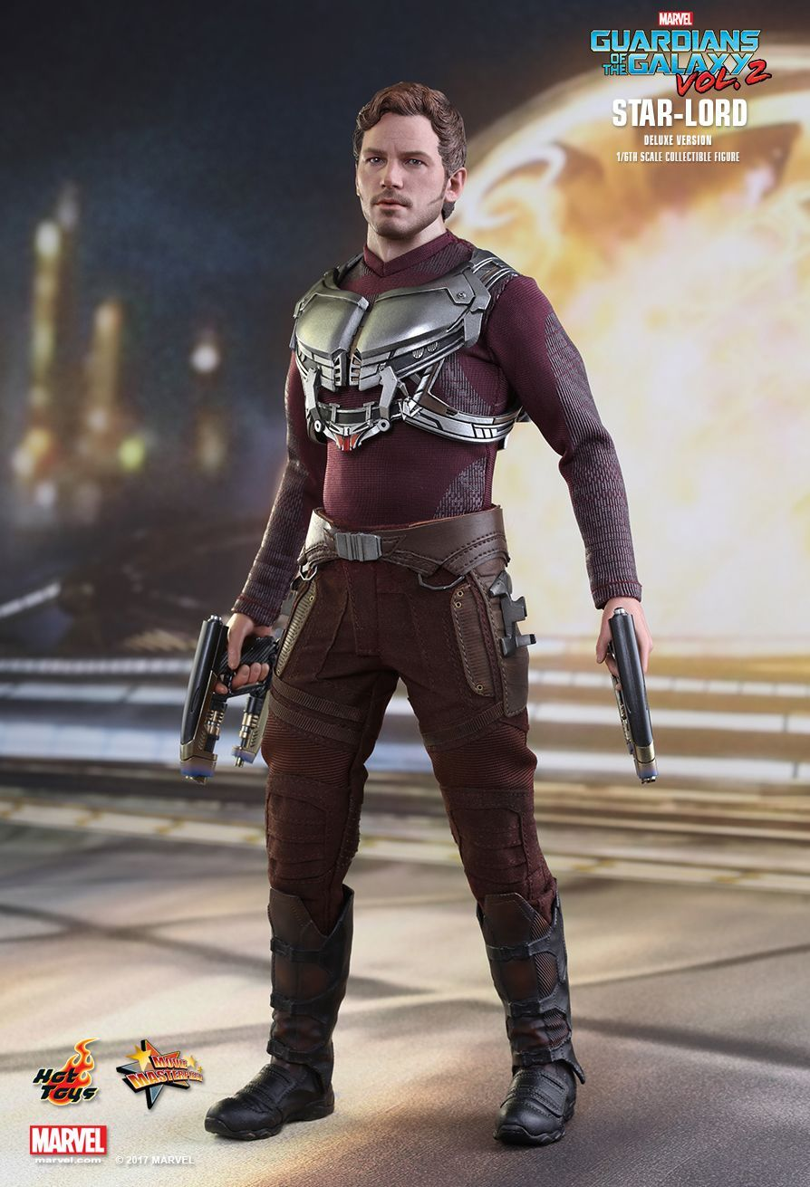 49a4ede6d Hot Toys : Guardians of the Galaxy Vol. 2 - Star-Lord (Deluxe Version)  1/6th scale collectible figure