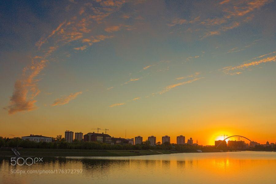 sunset by JinHoKim5. @go4fotos