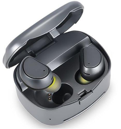 97f1c2f2b8f Soundmoov 316T Mini Wireless Earbuds with Charging Box - Black ...
