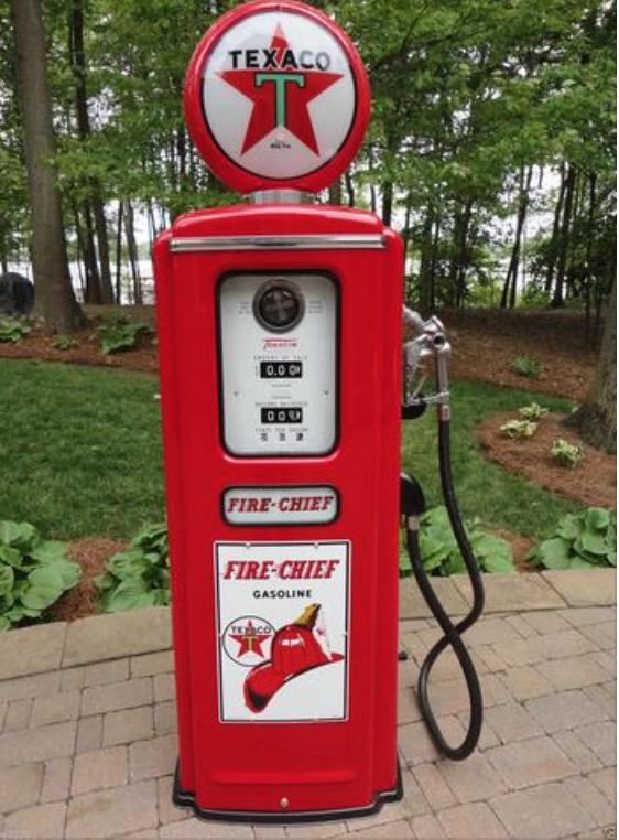 Tokheim Gas Pump Reproduction Gas Pumps Vintage Gas Pumps Fire Chief