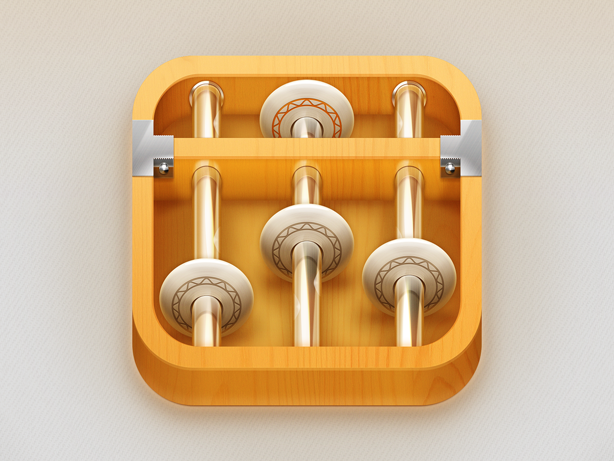 pinterest.com/fra411 #Apps #Icon - Abacus (Ancient Chinese Calculator).