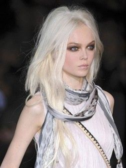 New Trend For 2015; Silver Hair Color
