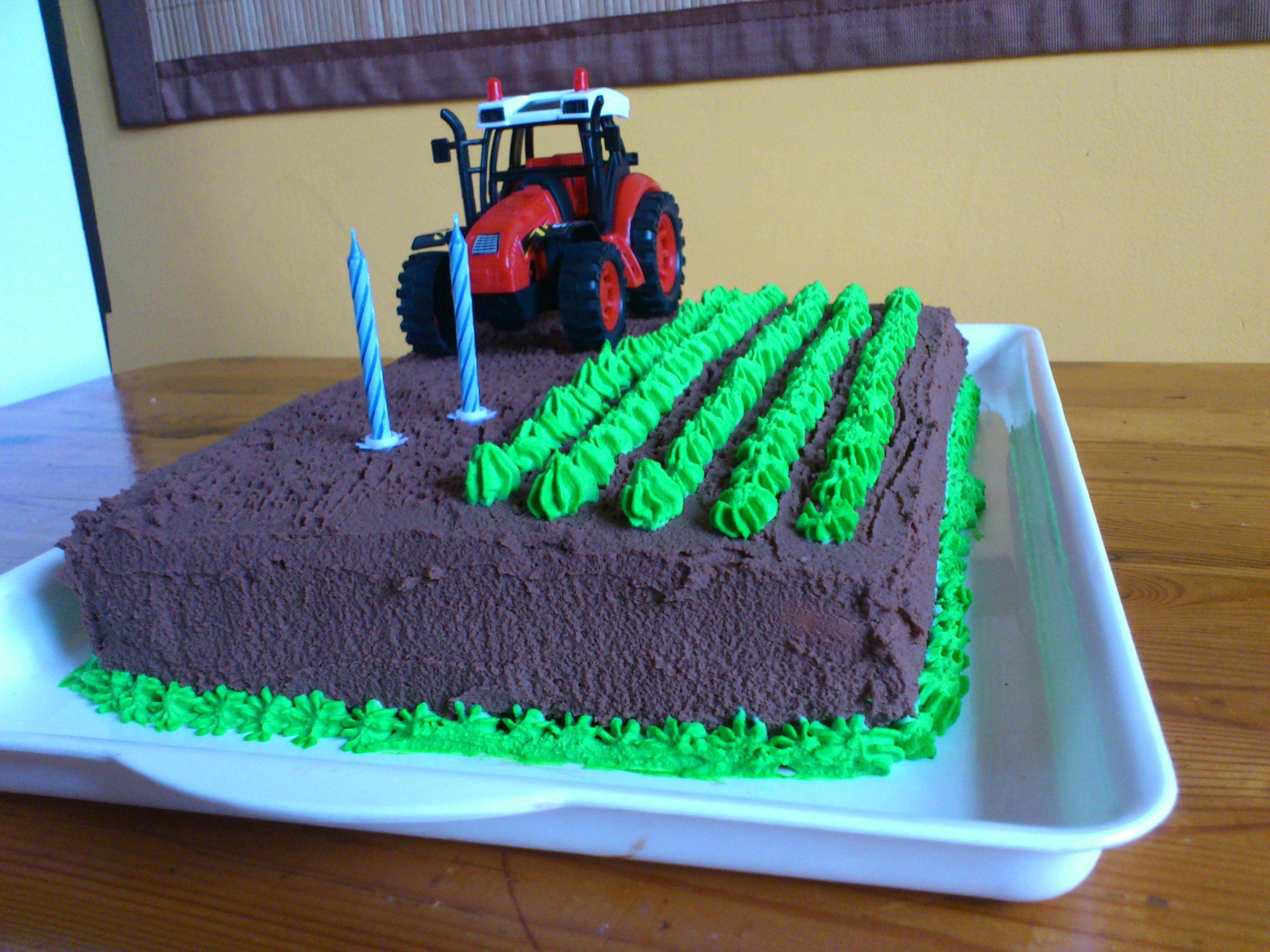 Ber ideen zu traktor torte auf pinterest - Kuchen ideen geburtstag ...