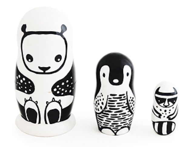 Nesting dolls from wee gallery