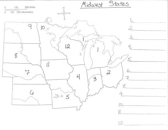 graphic relating to Midwest States and Capitals Quiz Printable named Southeastern Money Quiz Midwest Claims And Capitals
