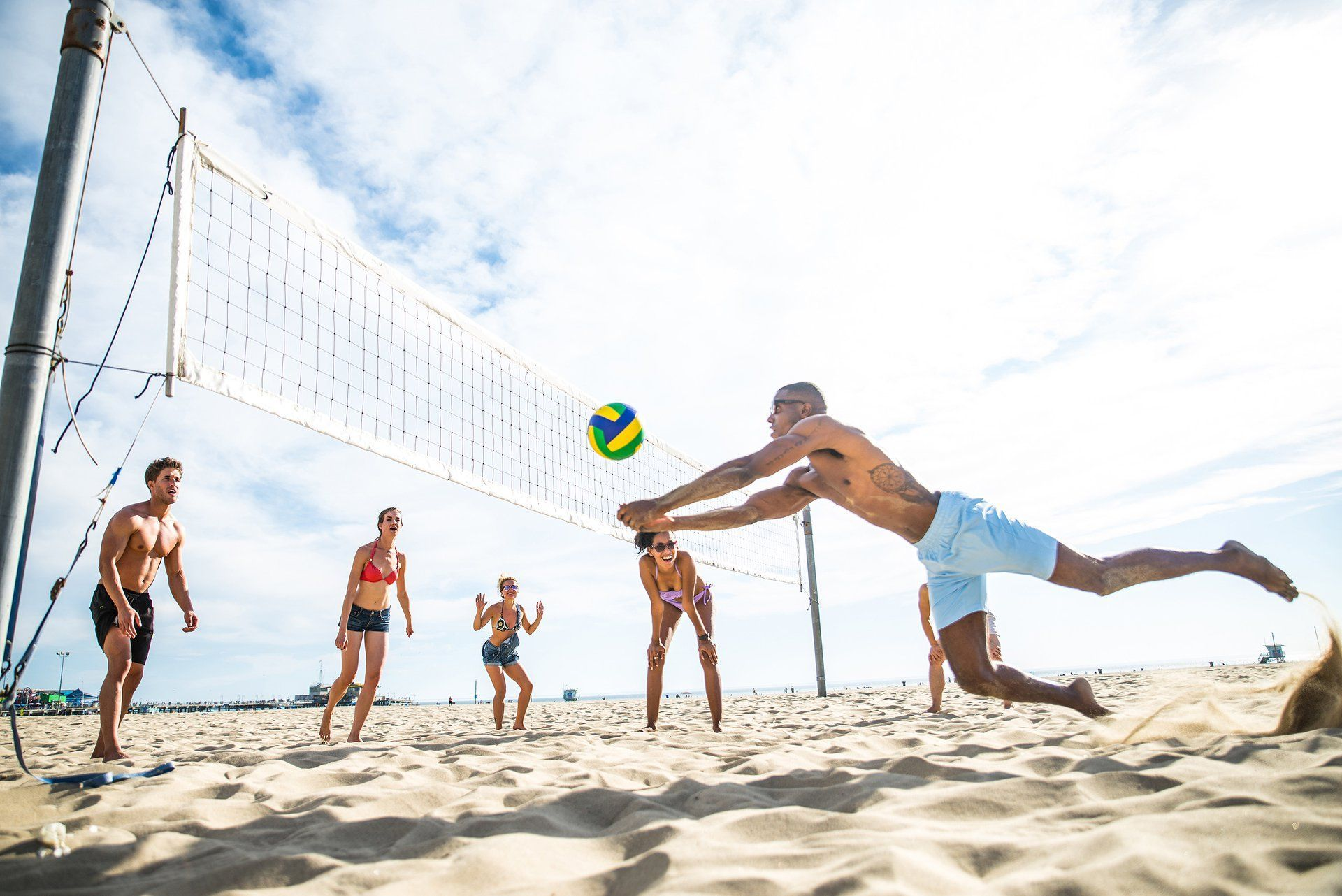 Enjoy Endless Activities From Day Until Night At Breathless Punta Cana In 2020 Beach Volleyball Summer Events Ideas Sports