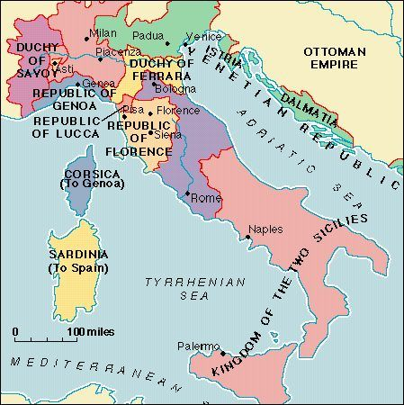 The renaissance a summary renaissance and history renaissance italy map italy wasnt one unified country but a number of small independent city states some of these cities were run by elected leaders and sciox Image collections