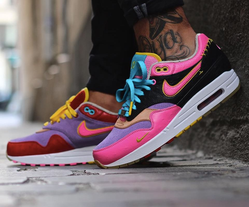new concept 6d46d 7ad88 ... Nike ID Air Max 1 Bespoke Candy Sneaks (by JoYaParis) ...
