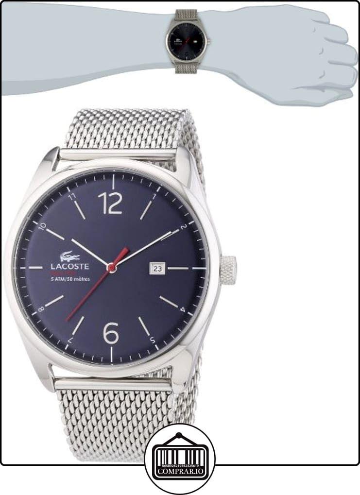 1d8746099c95 Lacoste 2010841 - Reloj de silicona para hombre