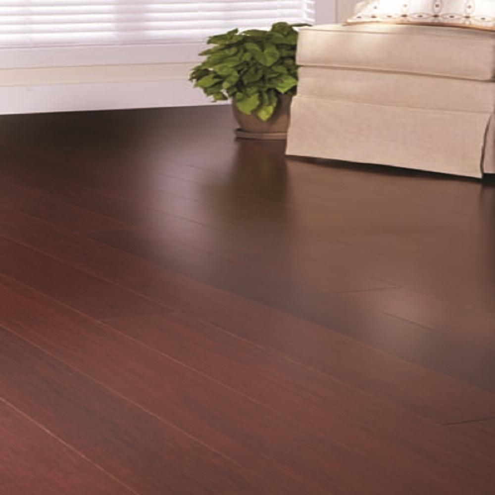 Home Decorators Collection Strand Woven Mahogany 3 8 In T X 5 1 8