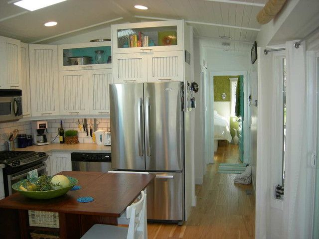 Trailer Park Homes Design Pictures Remodel Decor And Ideas Beauteous Small Mobile Home Kitchen Designs Inspiration Design