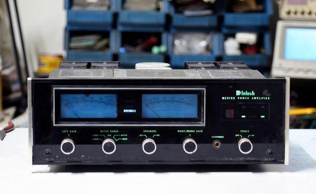 吉鵬音響工作坊: [維修] Mcintosh MC-2155 POWER AMP   Power amp, Mcintosh