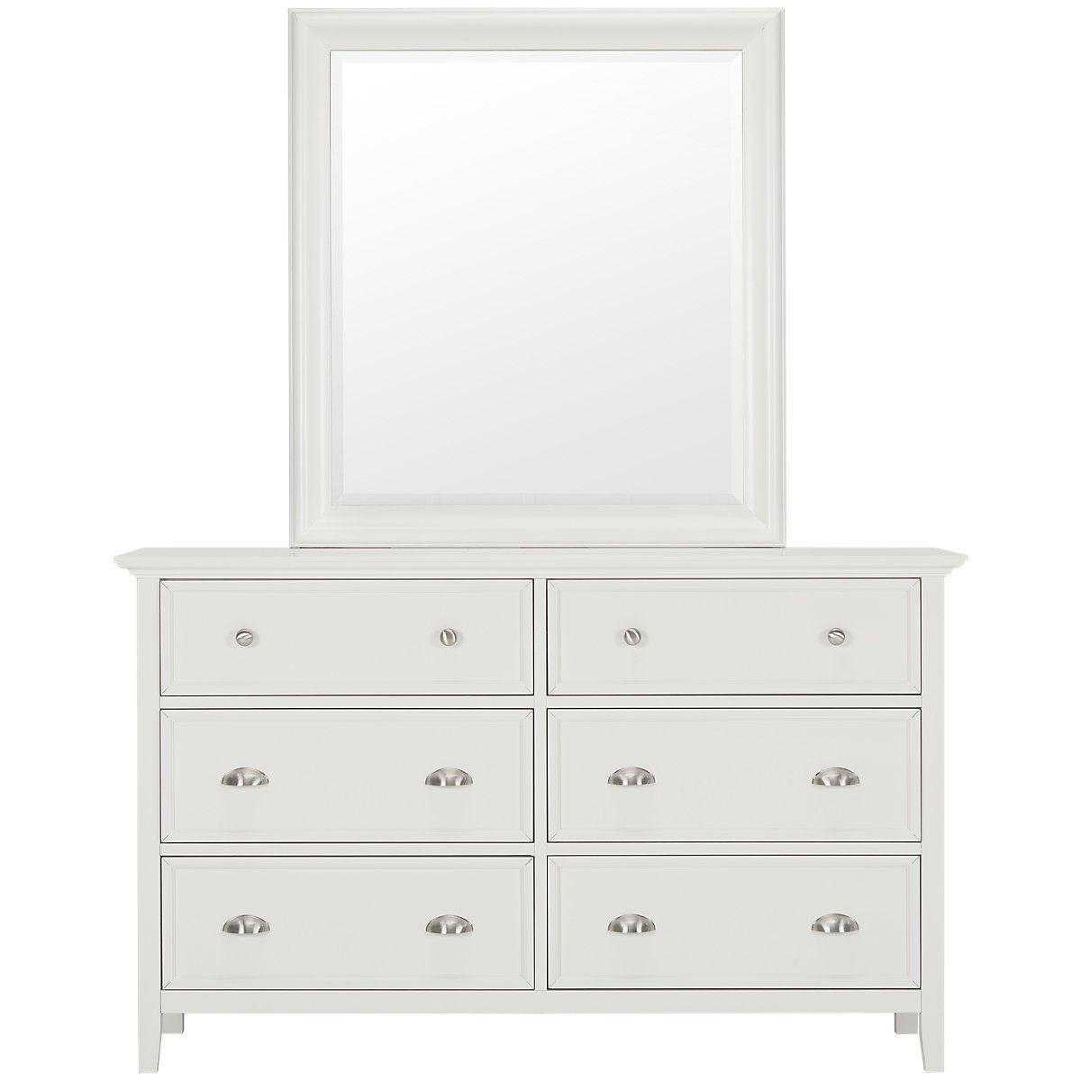 Best Spencer White Dresser Mirror Dresser With Mirror 640 x 480