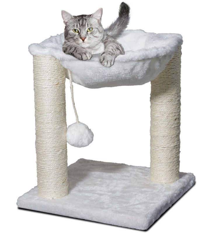 new cat tree hammock scratch post house   bed furniture for play with toy   cat condo cat tree hammock scratch post house   bed furniture for play      rh   pinterest