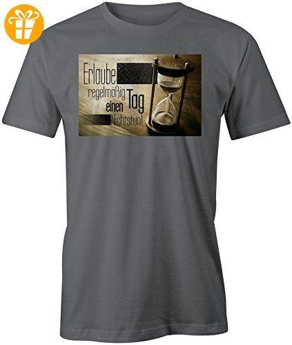 Erlaube Dir Regelmaessig Einen Tag Nichtstun 3 ☆ Rundhals-T-Shirt  Männer-Herren