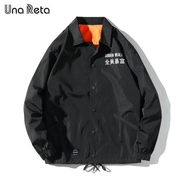 Hip Hop Windbreaker Overcoats Men Jackets 2019 Vintage Color Block Windbreaker Zip Up Casual Streetwear Jacket Nc14 Men's Clothing