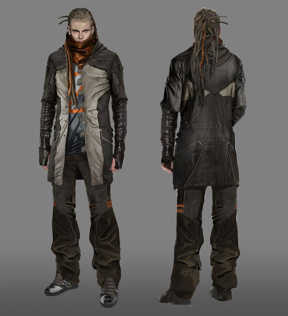 Sci-fi Character Concept art by Lee Hyun Suk(길모어