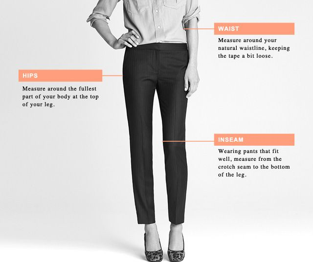 Clothing Size Charts  Measurement Guide For Women, Men  Children - J Crew Size Chart