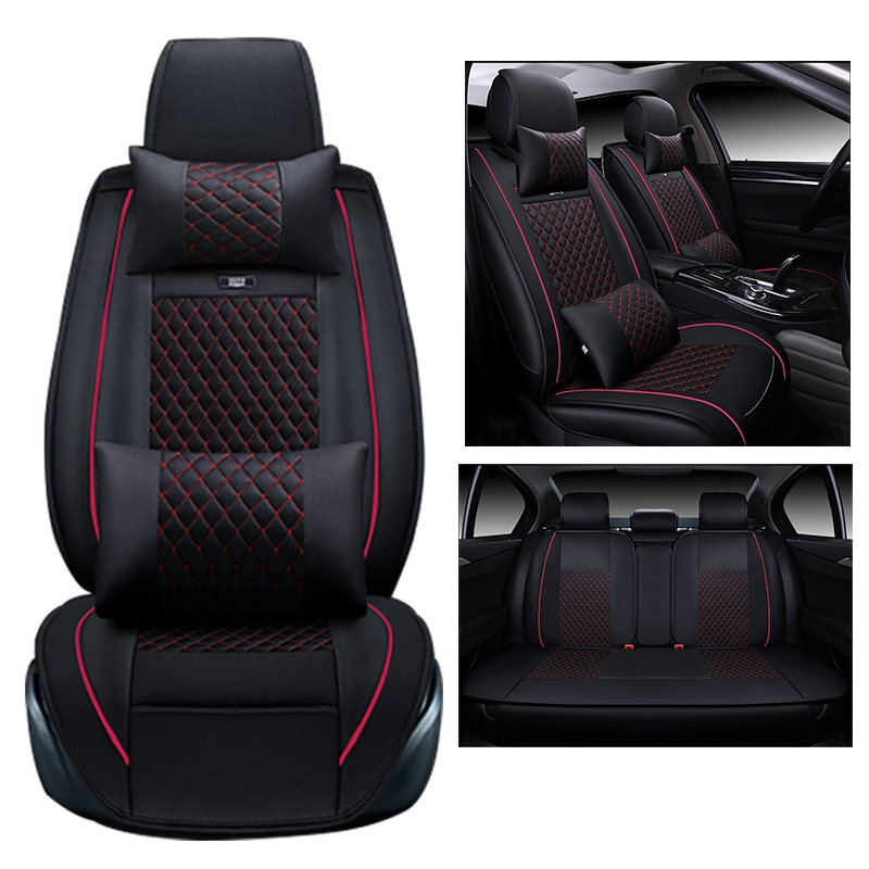 94 00 Watch More Here Car Cover Seats For Ford Focus 2013 2014 2015 2016 Seat Cover Custom Pu Leather Car Seats Diy Car Seat Cover Leather Car Seat Covers