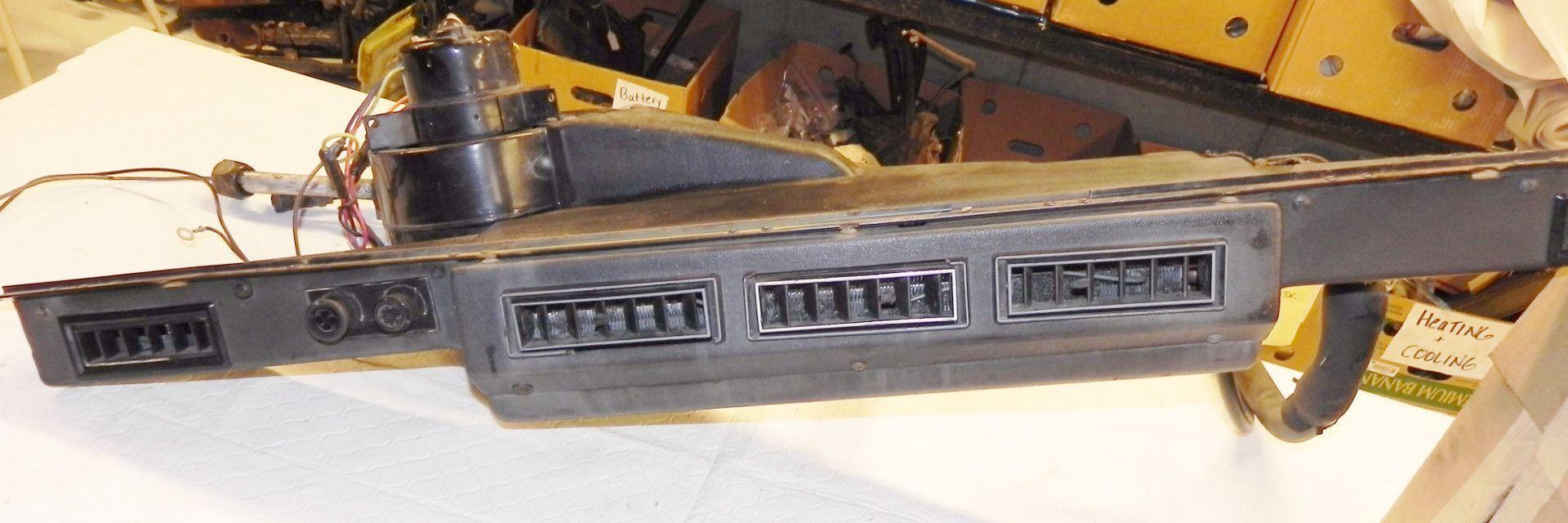jeep wrangler yj a/c air conditioner under dash ac exchange unit