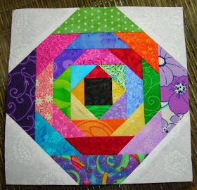 Quilty Indulgence: Scrappy Pineapple Quilt Blocks