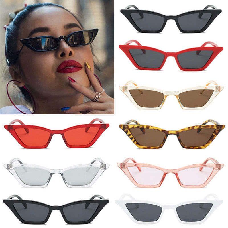 ac55577837af $1.69 - Vintage Cat Eye Sunglasses Women Retro Small Frame Fashion Shades  Uv400 Glasses #ebay #Fashion