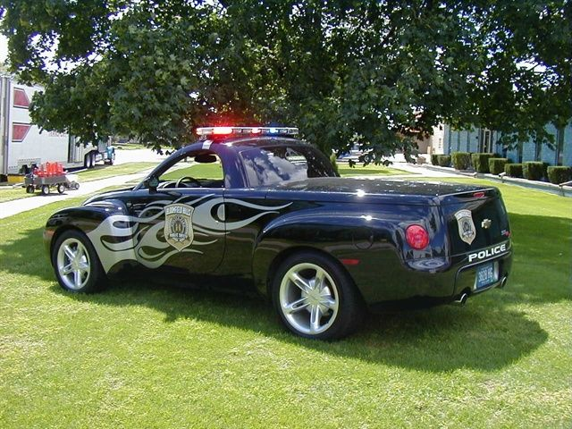 Sporty Police Vehicles Police Cars Chevy Ssr Police Truck