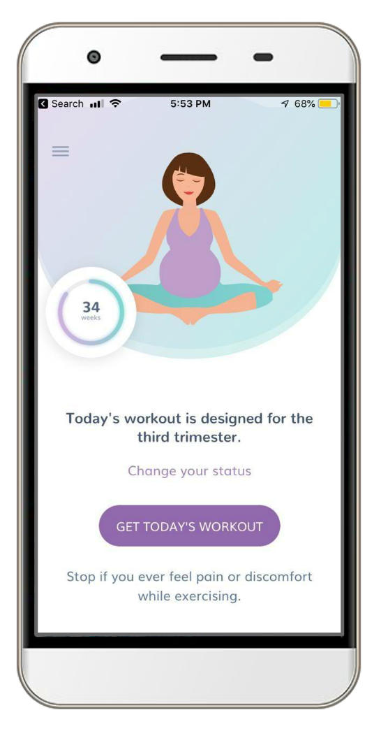 Prenatal Workout App Staying fit during pregnancy made